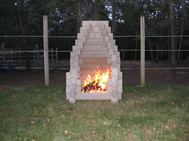 Charlie It Was So Simple And Easy To Set Up The Fireplace.