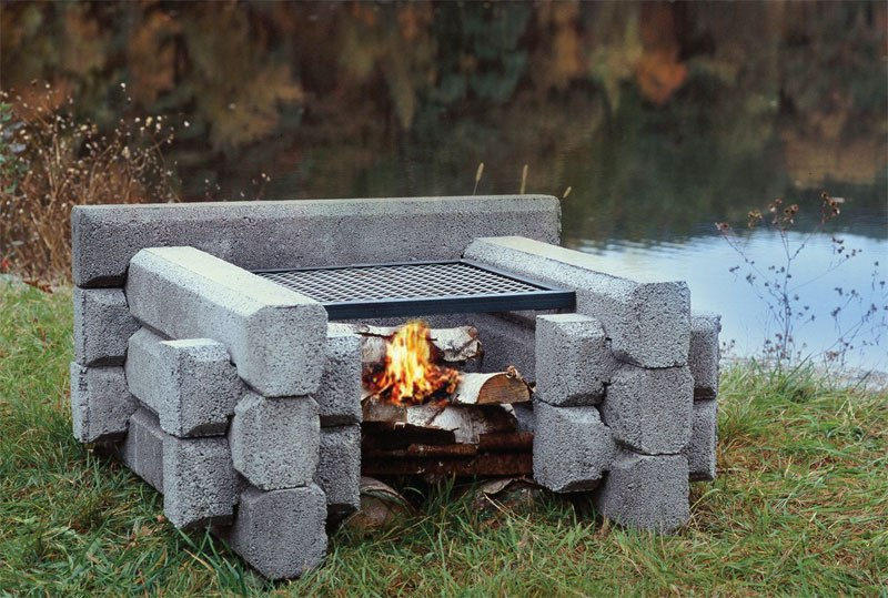 the mini firepit from Precast Outdoor Fireplaces - The Mini Fire Pit - Precast Outdoor Fireplaces