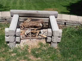 richards fireplace from Precast