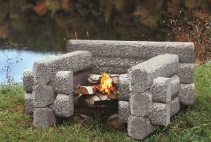 the campert from Precast Outdoor Fireplaces