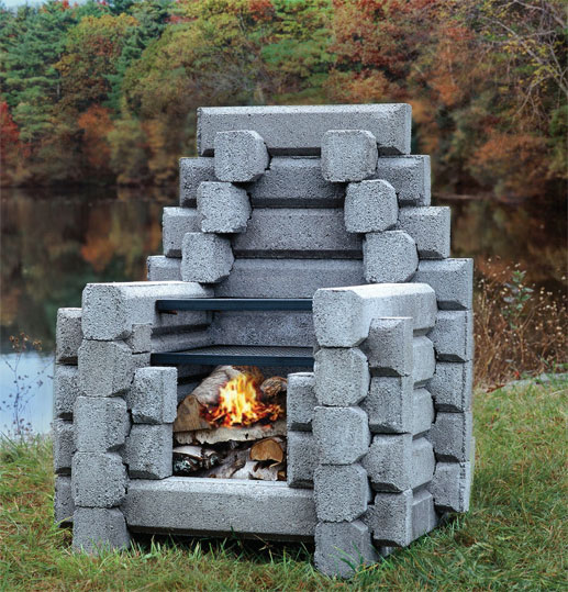 Outdoor fireplaces for Where to buy outdoor fireplace
